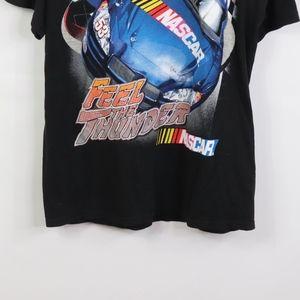 Vintage Shirts - Vtg Mens Large Nascar 2004 Graphic T Shirt Black